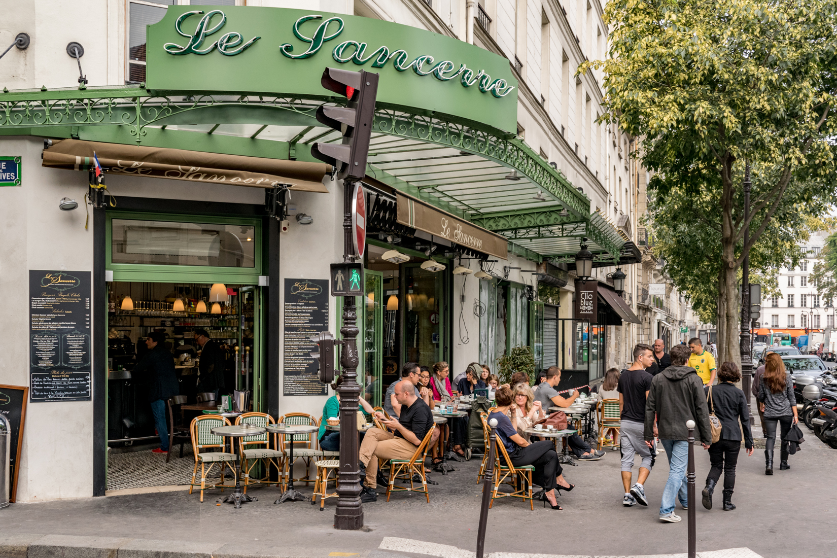 Café culture is at the heart of Parisienne life