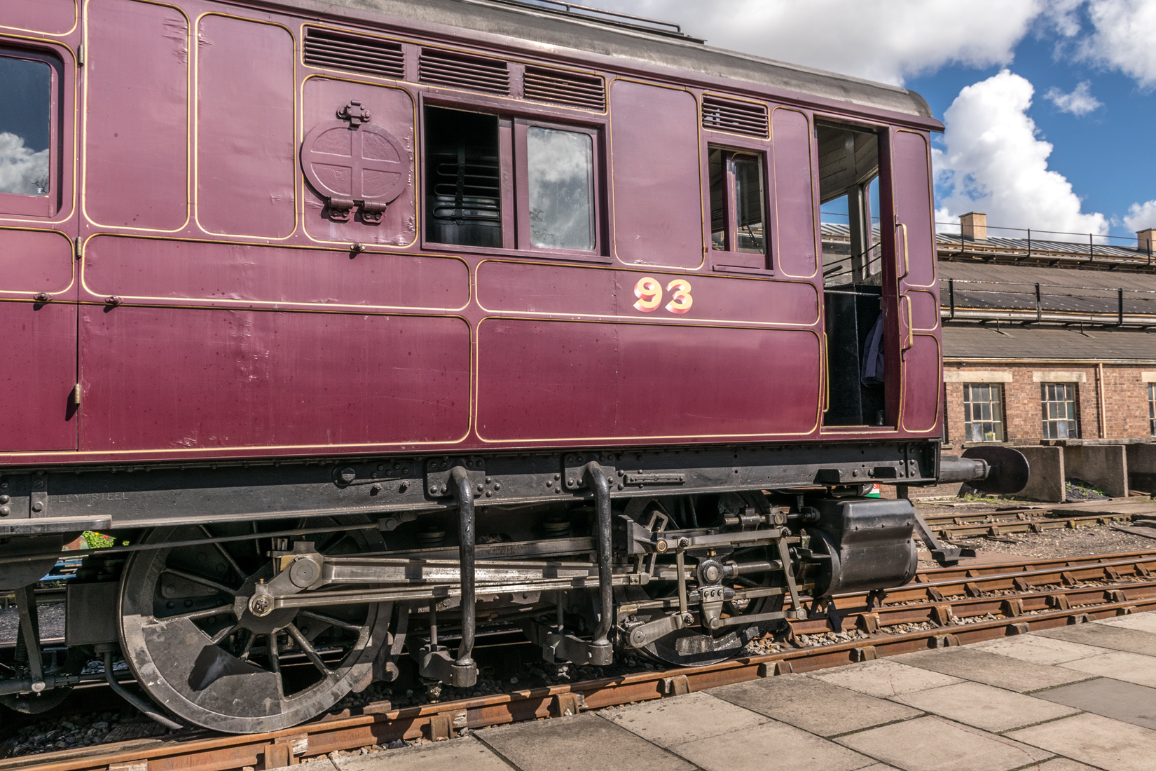 Steam Railmotor number 93