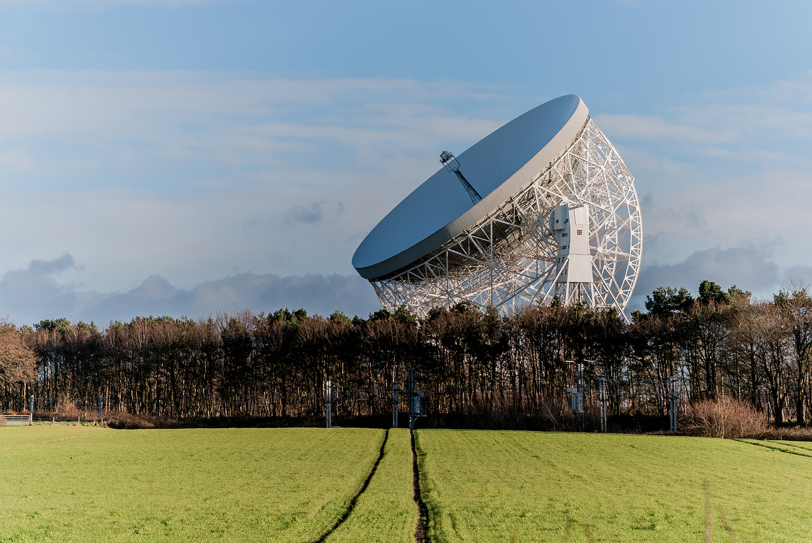 The Lovell Telescope at Jodrell Bank Observatory