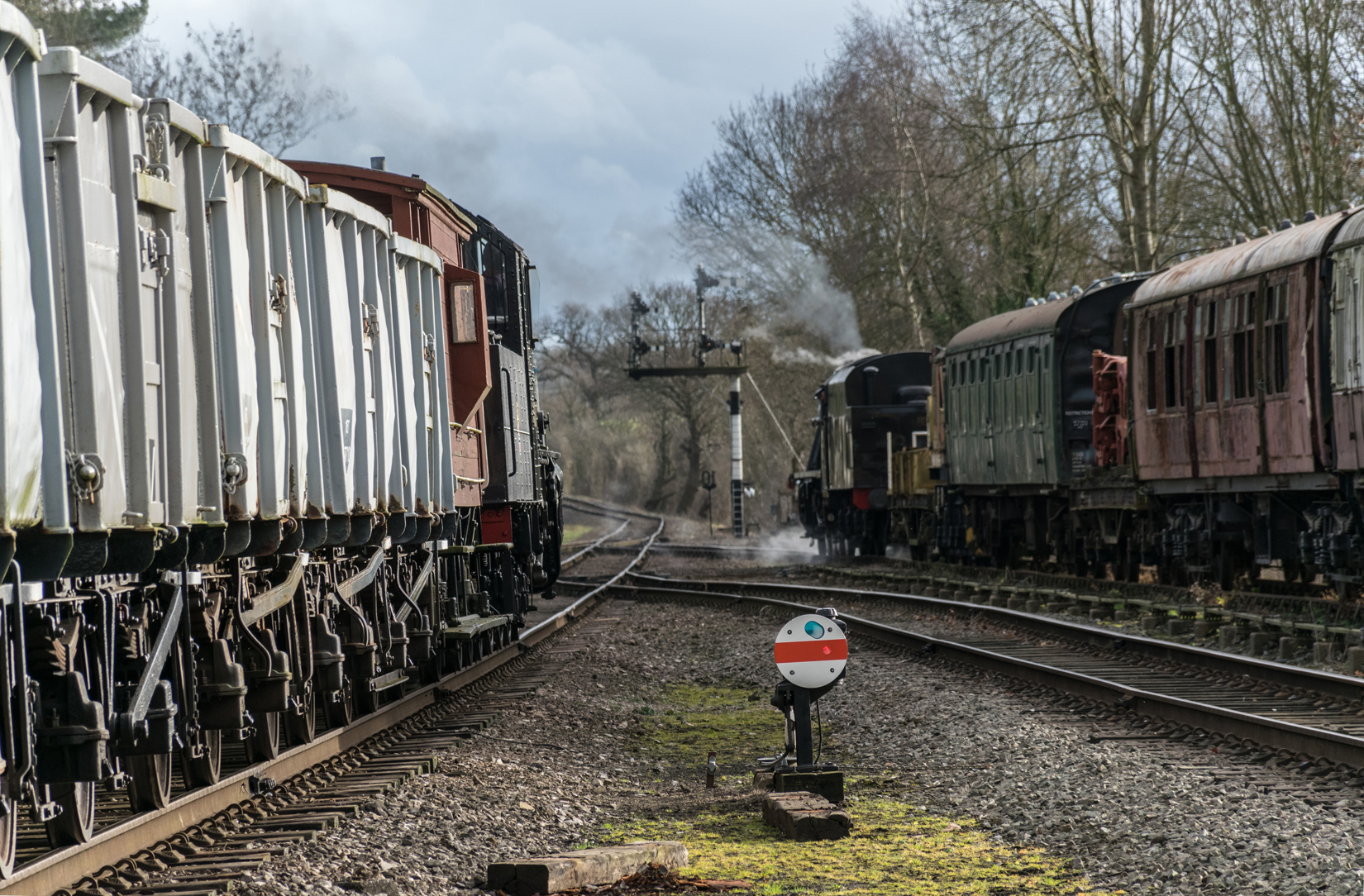 46521 and 48624 at Rothwell sidings.