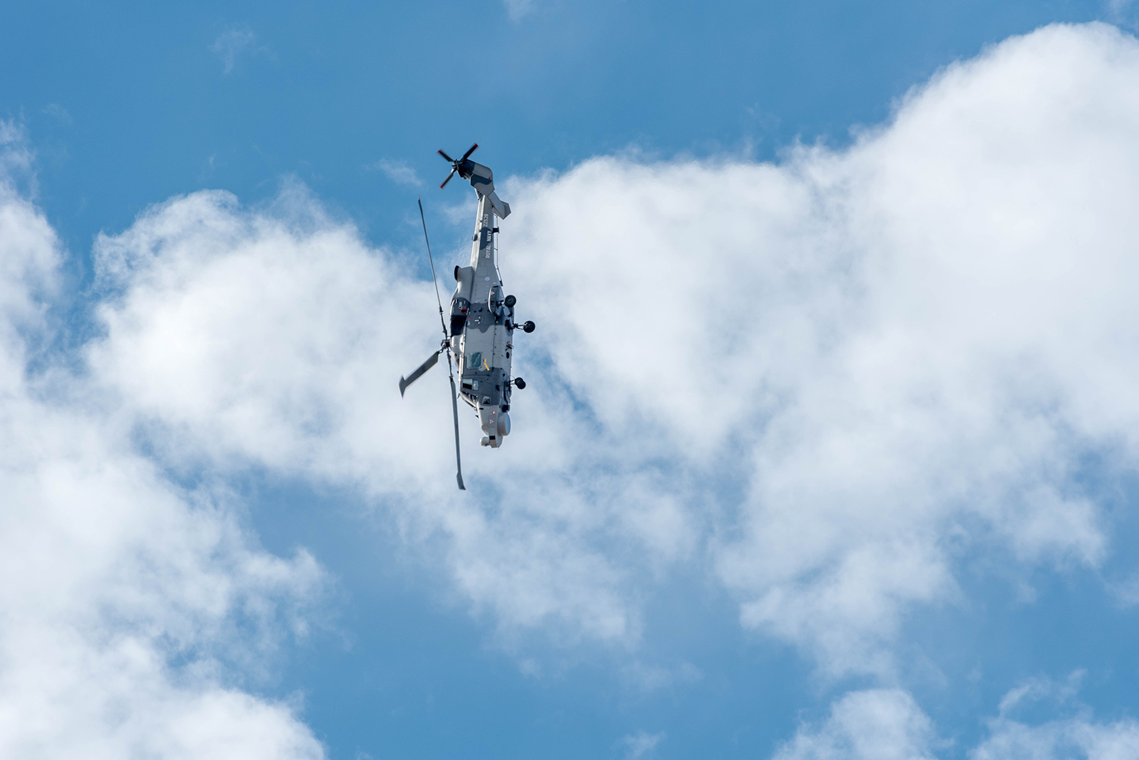 Royal Navy's Black Cats display team